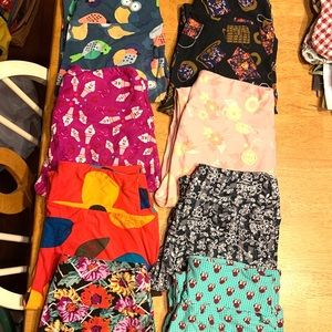LULAROE OS LEGGINGS. NEW OR WORN ONCE ONLY!